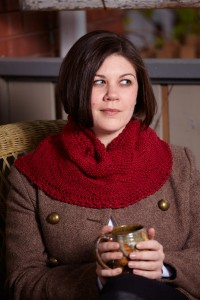 Whitman Cowl knit out of Filatura di Crosa Zara Chine