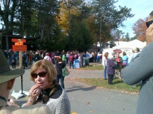 Crowd at New York State Sheep & Wool Festival