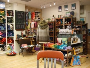 Displays at Knit New Haven