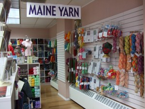 Over the Rainbow Yarn, Rockland, ME