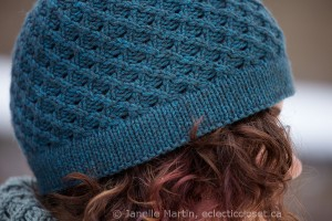 Close up of brim detail of Fossetta Hat