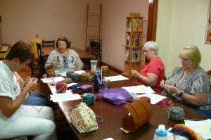 Intentional Pooling Class at Lancaster Yarn Shop