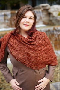 Pyrenees Shawl wrapped in luxury