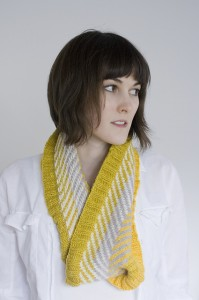 Alex Tinsley, modeling Chevzam Cowl