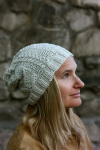 Adiri Slouchy Hat in Shalimar Haven