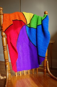 Wedgie Blanket, photo by Mary Chapman