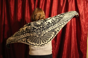 Rise from the Ashes Shawl