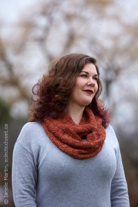 Tiling Twists Cowl in Best of Nature