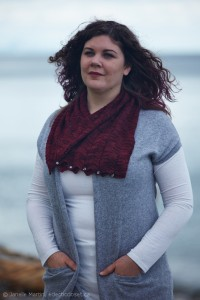 Boat Harbour scarf cover shot