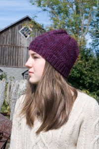 Offbeat Seed Stitch Hat