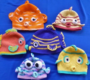 Kissy Fish Hats