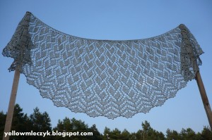Silver Touch Shawl