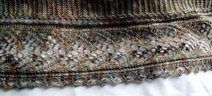 Barley Fields Shawl