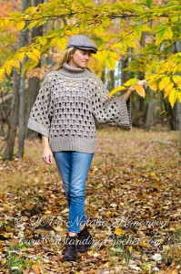 Cowl Neck Sweater by Natalia Kononova
