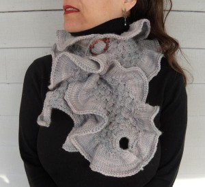 Ninetta Neckwarmer by Nina Machlin Dayton