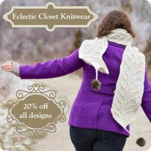 Black Friday Cyber Monday sale at Eclectic Closet Knitwear 20% off