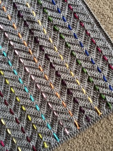 Threaded Colors Chevron by BabyLove Brand