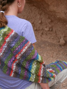 Inca Blocks Wrap by Beth Graham