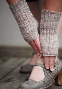 Pride and Prejudice Mittens by Christelle Nihoul
